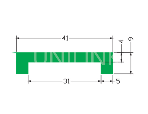U362 盖型垫条