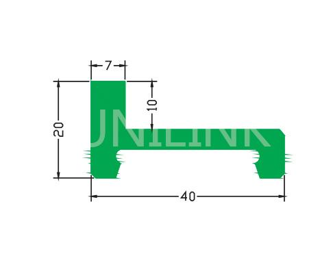 U367L 盖型垫条