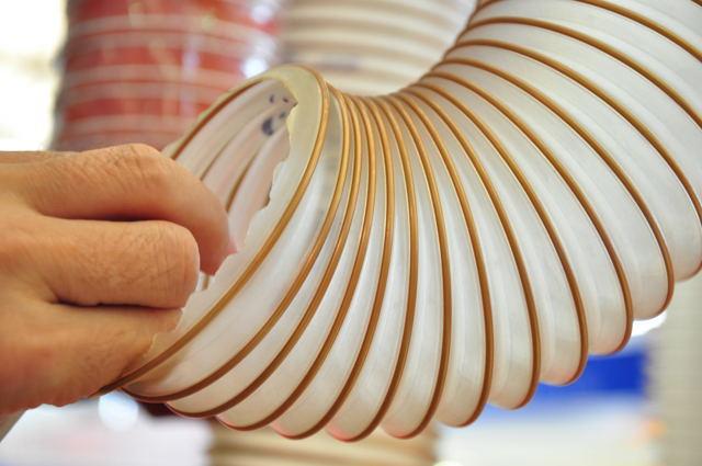 VM-高伸缩通风吸尘PU耐磨钢丝软管-意大利IPL