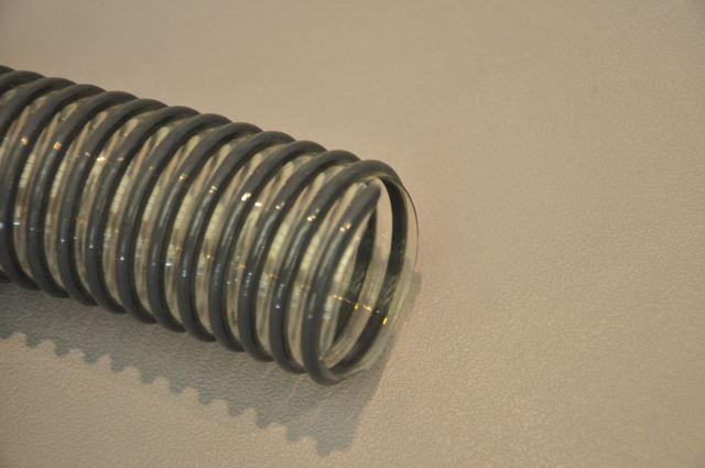 OU-灰色塑筋加强透明PU软管-意大利IPL