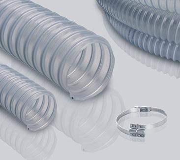 1.5mm壁厚食品级PU钢丝管