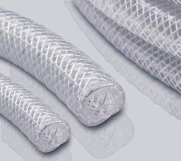 网纹钢丝双重加强BioVinyl PVC透明软管