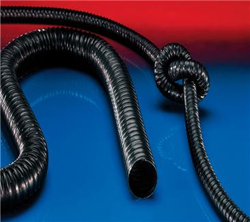 330黑色抗静电聚氨酯轻型软管-德国NORRES