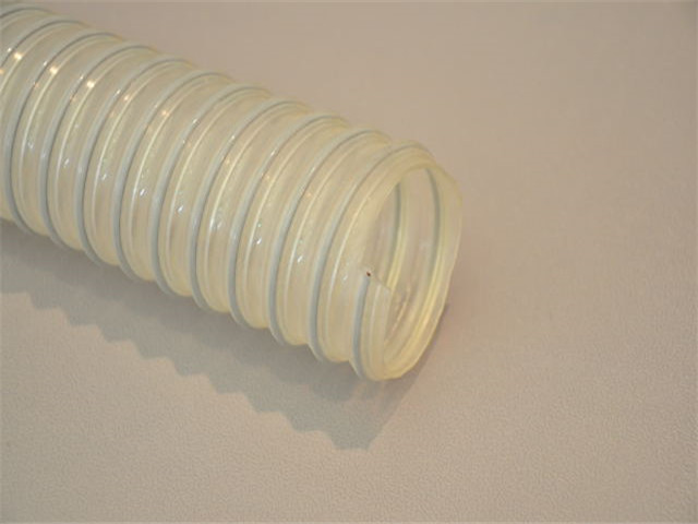 VK-0.9mm壁厚食品级镀锌钢丝PU软管-意大利IPL