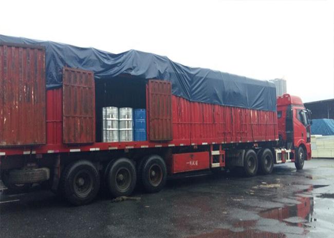 上海明武物流整车、零担运输案例
