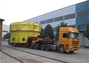 上海明武物流与上海林肯电气大件运输成功案例