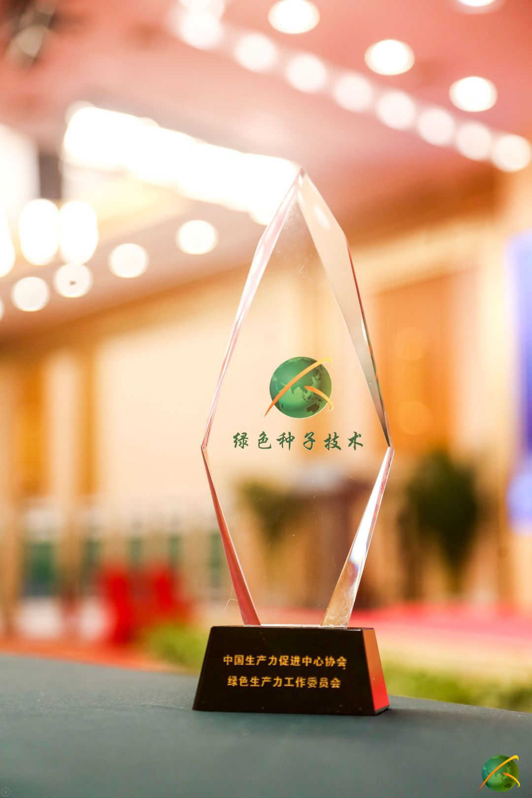 VACSTONE荣获2020绿色生产力种子技术杯