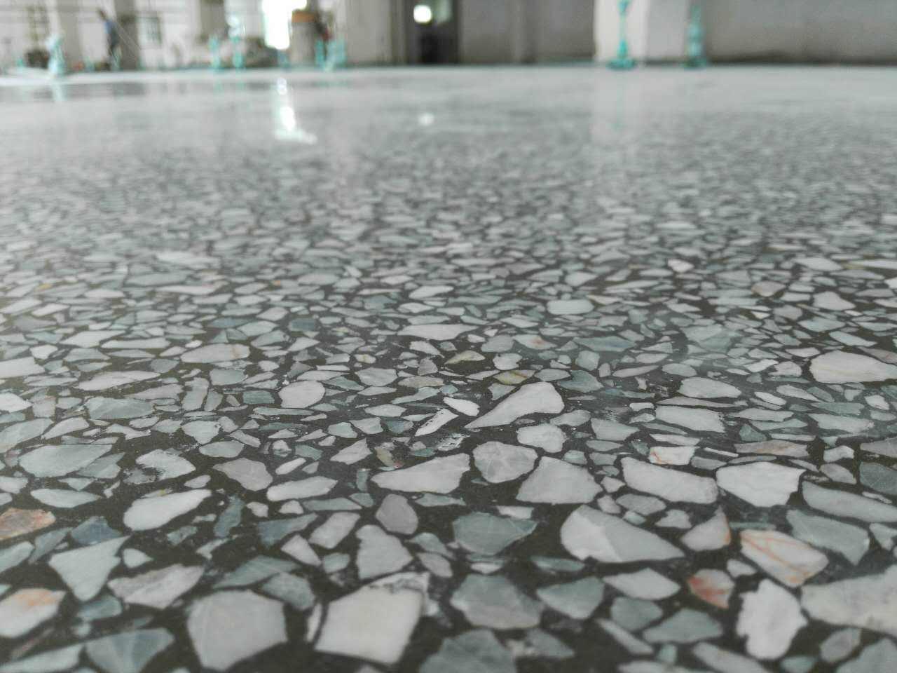 传统水磨石地面做法?