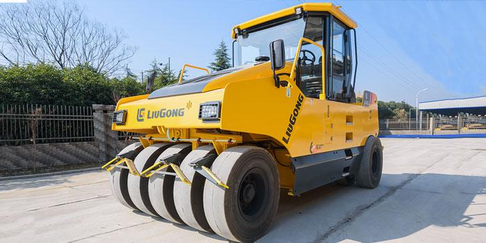 CLG6530E轮胎压路机