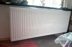 暖气片施工案例