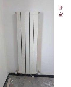 卧室暖气片,两厅两室安装效果图