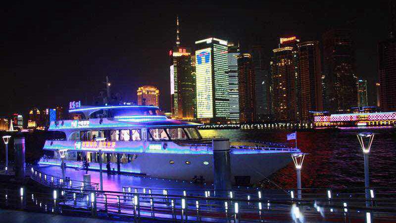 上海黄浦江中型游轮租赁
