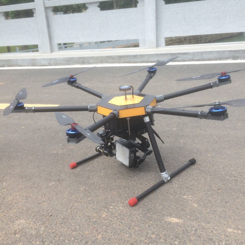 无人机雷达测流