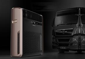 卡车空调内机设计