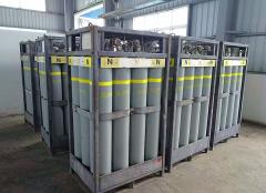 氟氮混合气集格设计