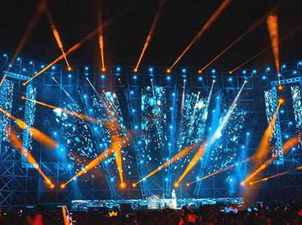 舞台燈光效果展示