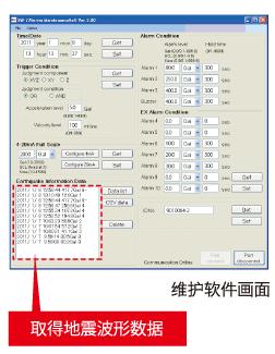 地震波形顯示軟件 (...
