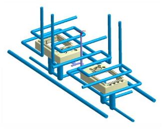 轻松建置完成水路系统和冷却系统