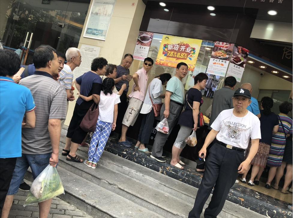 佬街佬味延長路加盟店新店開業火爆