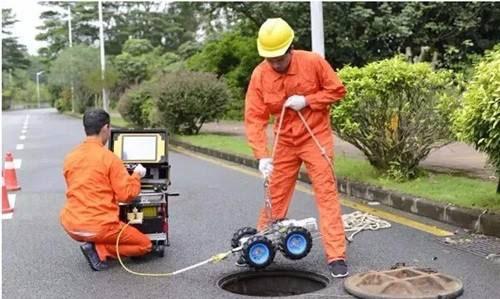 管道CCTV检测机器