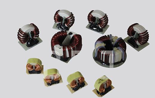 纳米晶共模电感成品绕制
