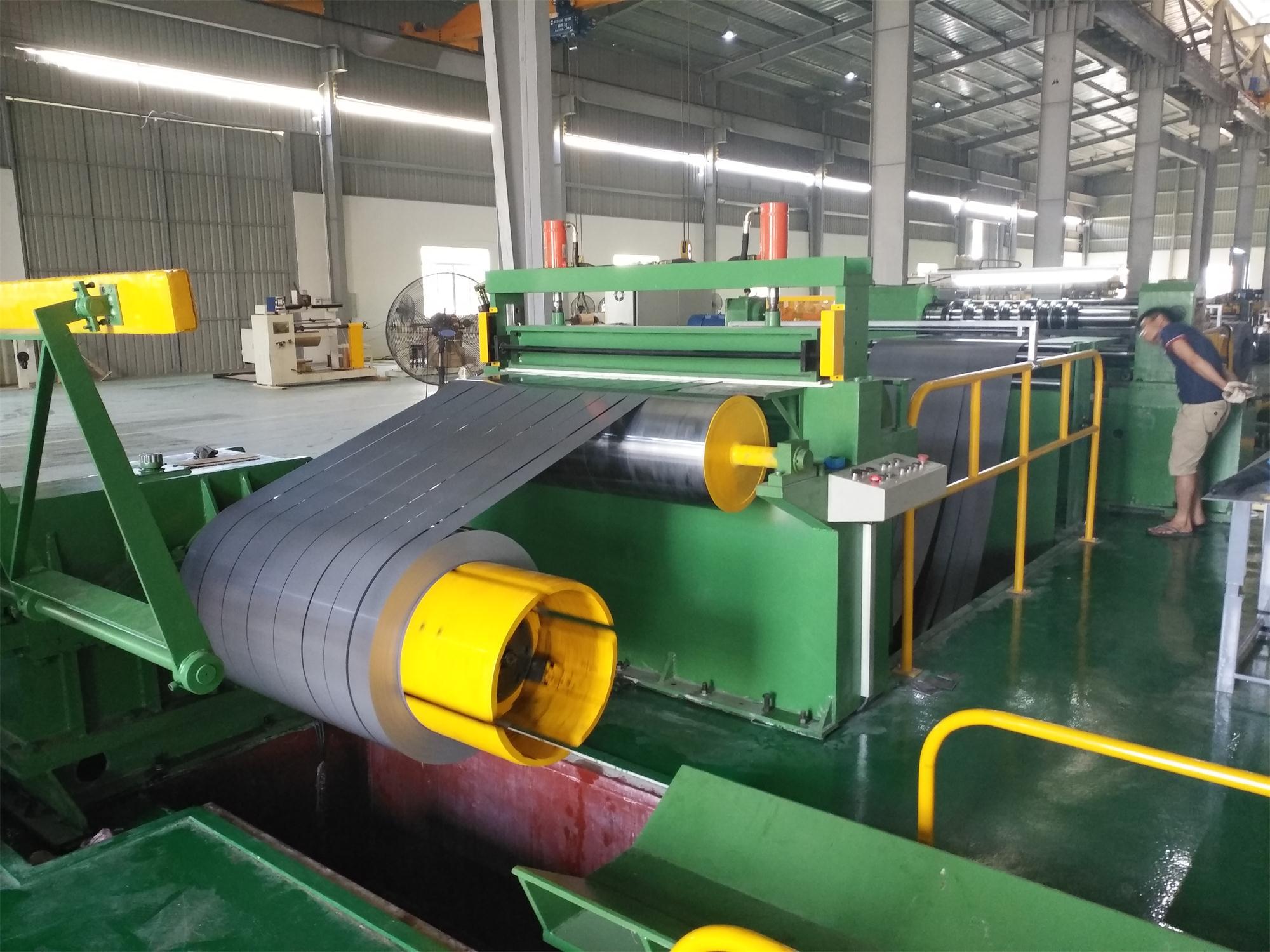 硅鋼帶分條機縱剪線