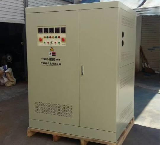 TESGZ-250KVA三相大功率柱式调压器
