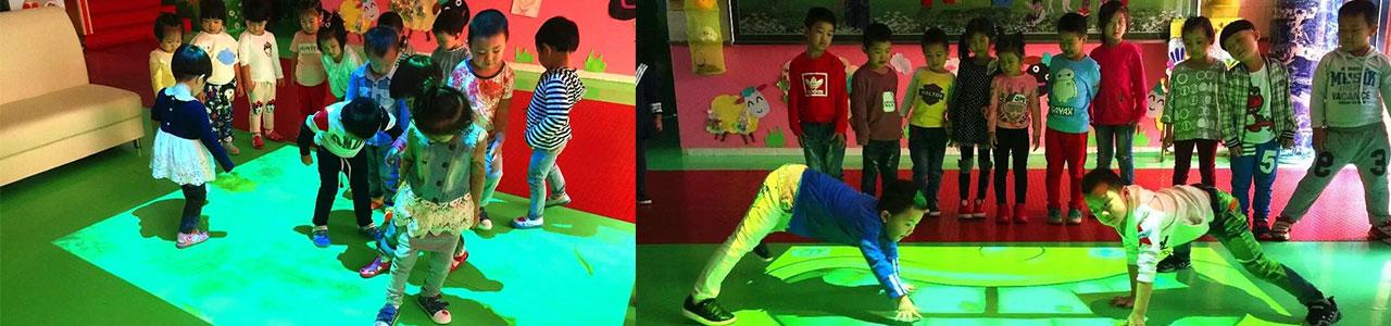 河北沧州世纪之星幼儿园:神奇的魔幻地面之旅