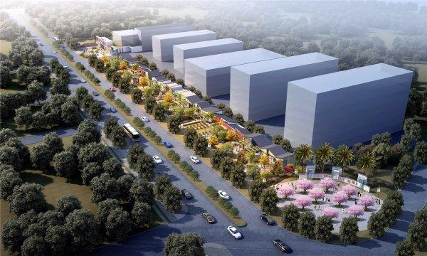 广州沿街商业街工程