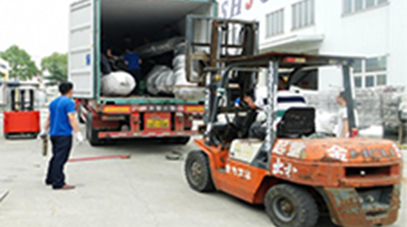 阿富汗項目已驗收,于2016年6月15日開始裝船發貨