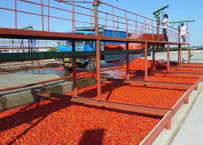 果醬生產線