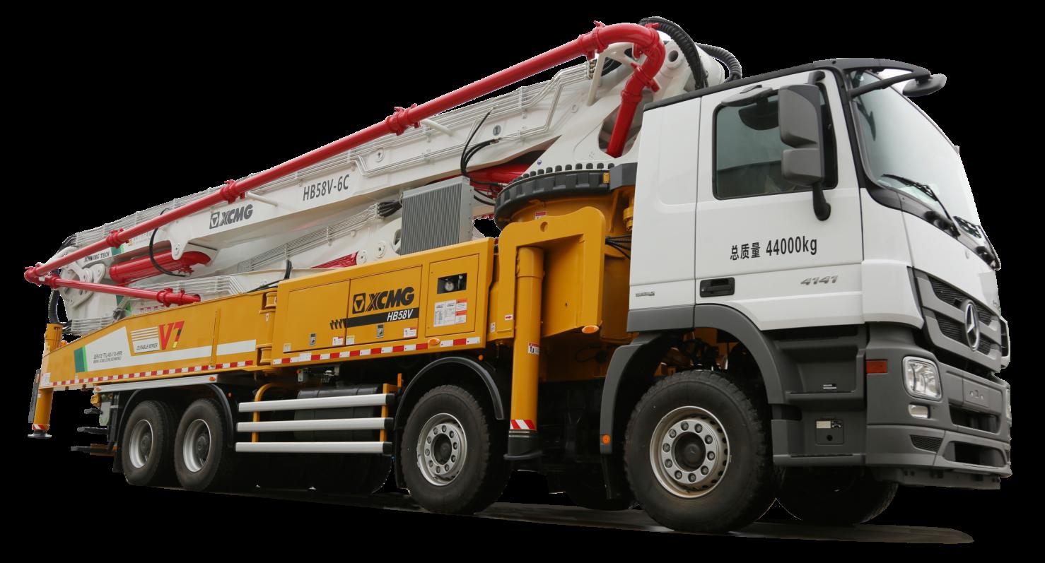 V7 新一代混凝土泵车