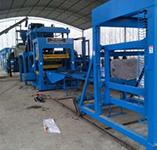 安徽亳州市水泥砖制砖机设备安装现场