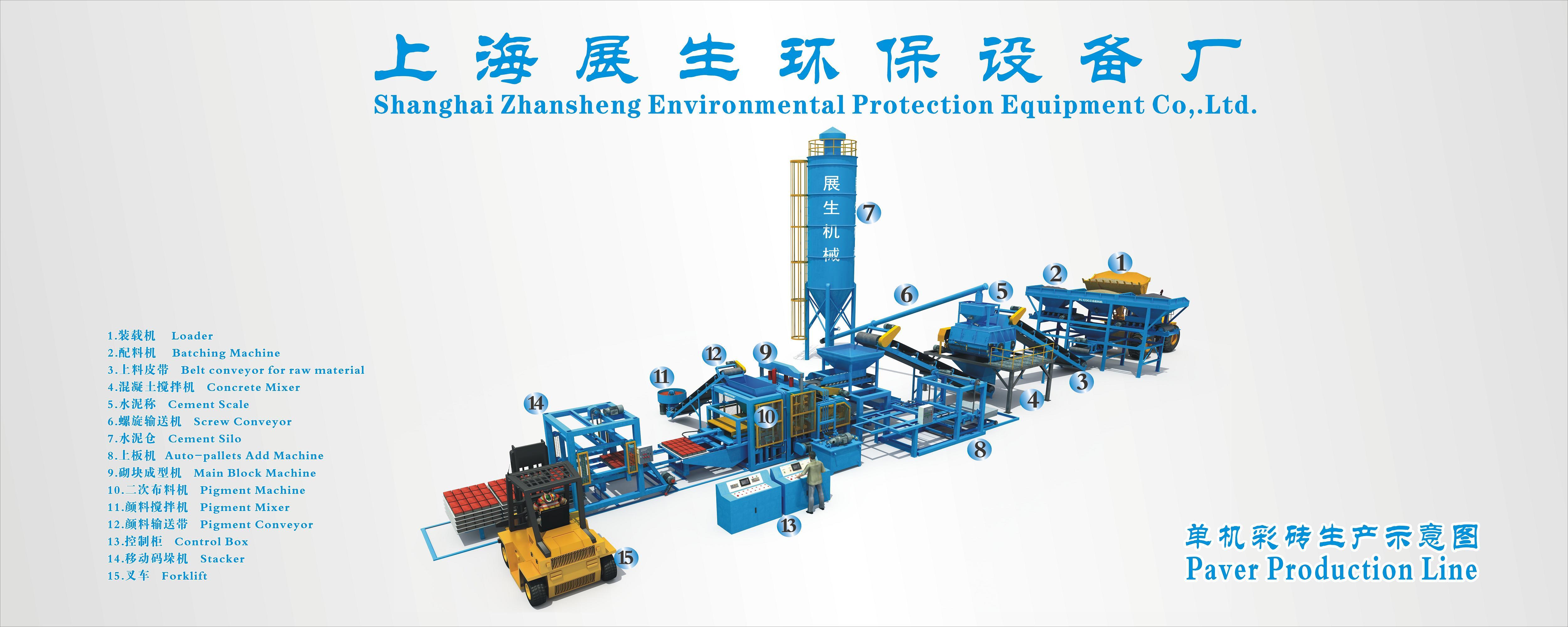 ZS-QT系列砌塊成型機