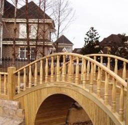 防腐木廊桥案例