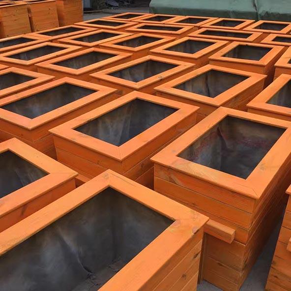 防腐木花箱价格