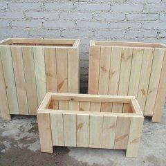 优质防腐木花箱