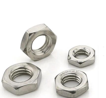 304不锈钢六角薄螺母