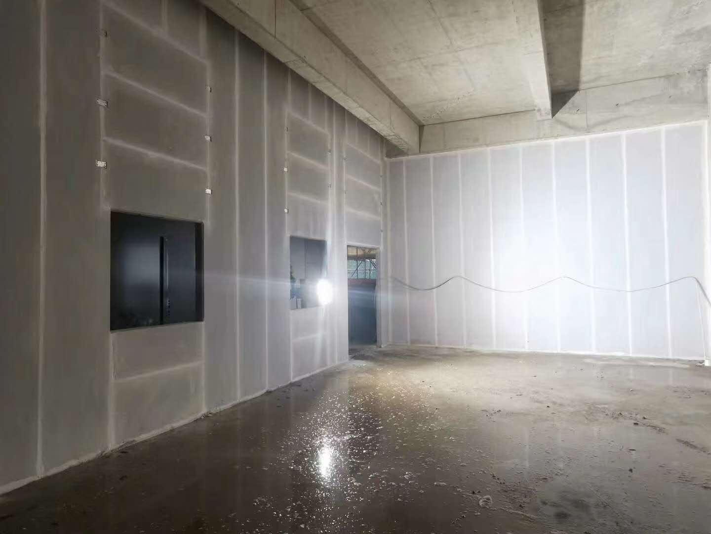 隔墙板现场安装效果