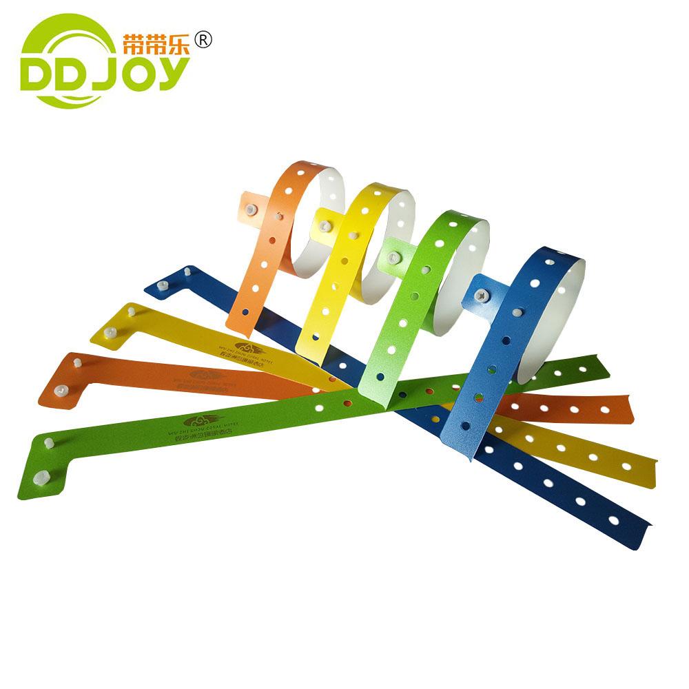 L型复合纸手腕带 用于各种门票带景区乐园手腕带上海鼎霸标识