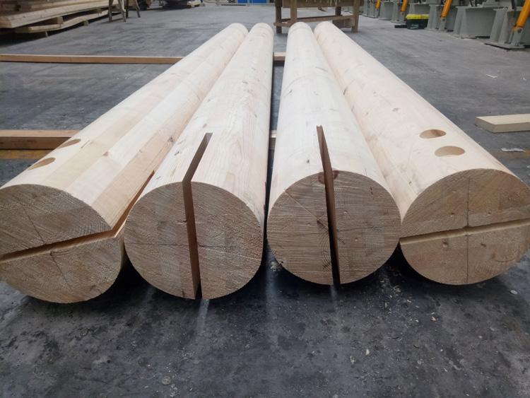 胶合木柱,胶合木梁和金属件连接点示意图
