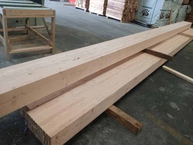 胶合木是通过哪些工序生产出来的