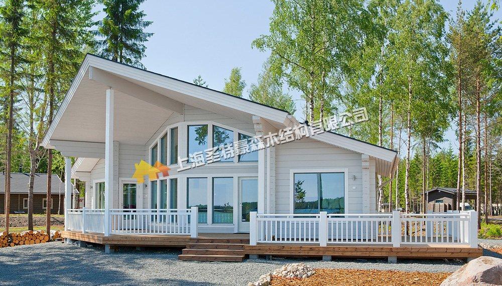 北美风格木屋