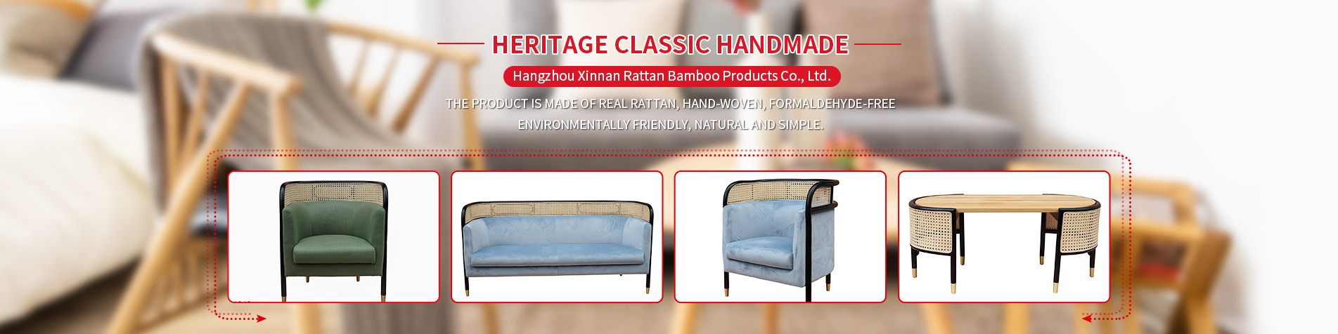 Hangzhou Xinnan Rattan Bamboo Products Co., Ltd.