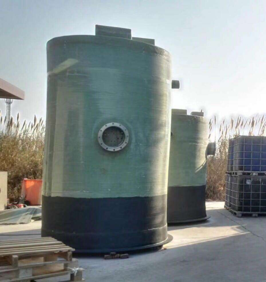 一体化污水提升泵站外观