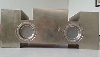 Ladle scale sensor