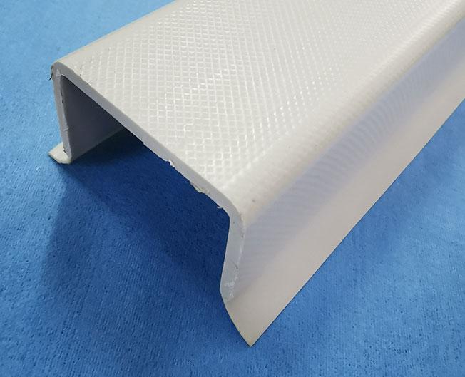 厂家直销塑料共挤型材 塑料双色型材软硬共挤型材