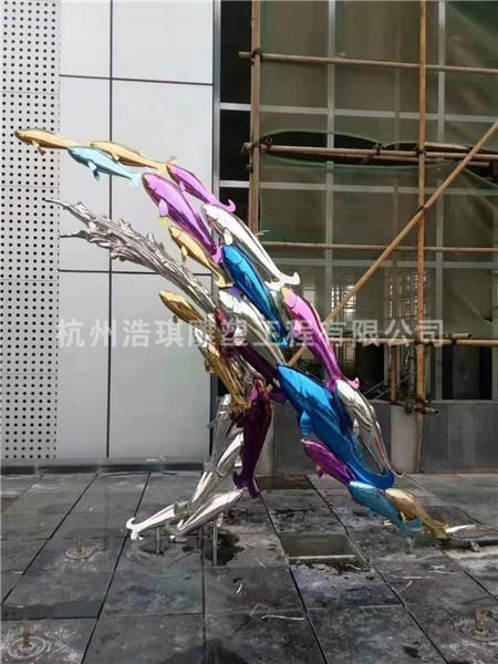 金属雕塑-杭州浩琪雕塑工程有限公司