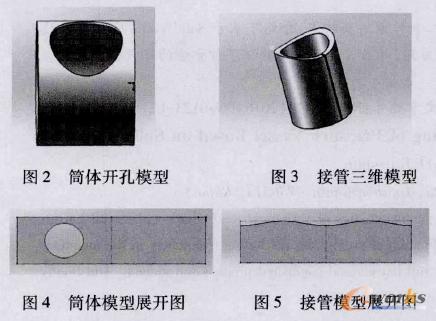 在压力容器制造中SolidWorks的展开放样技术