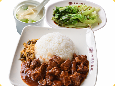 红烧牛腩饭